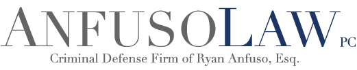 Criminal Defense Firm of Ryan Anfuso, Esq.